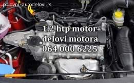 SKODA 1.2 HTP  DELOVI MOTORA