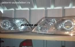 Skoda octavia A5 restajling farovi