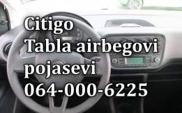 Škoda citigo airbag-pojas-tabla