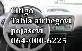 Škoda citigo airbag-pojas-tabla