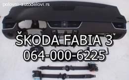 Airbegovi pojasevi ŠKODA FABIA 3