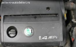 Skoda Fabia motor 1.4 MPI ATZ