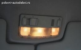 Skoda fabia svetlo kabine