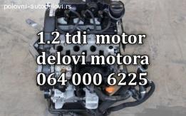 Skoda motor 1,2 TDI