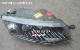 Skoda octavia A7 ksenon farovi