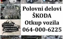 Skoda POLOVNI DELOVI 2007-2018