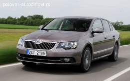 Škoda superb airbag-pojas-tabla