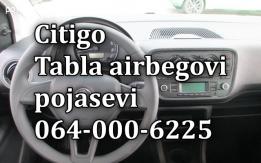 Skoda table airbagovi pojasevi