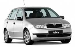 Spojler Škoda Fabia 1