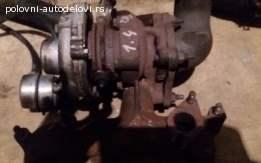 Turbina Škoda Roomster 1.4 TDI