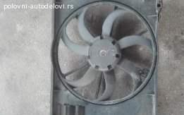 Ventilator hladnjaka Škoda Praktik