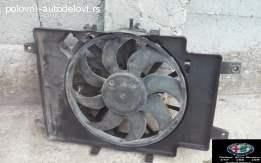 Ventilator hladnjaka za Alfu 156 1.9-2.4 JTD