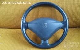 Volan sa airbagom Peugeot 406 1995-2004. god.