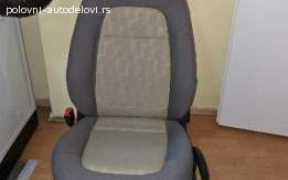 Škoda Fabia Vozačevo sedište