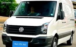 VW CRAFTER KOMPLETNO VOZILO U DELOVIMA