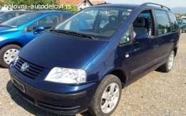 VW Sharan 1.8B 2004. god Delovi