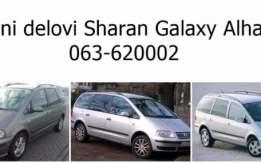 Vw Sharan 2000-2015 komplet delovi