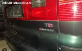 VW SHARAN 4X4 KOMPLETAN AUTO U DELOVIMA