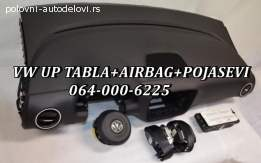 Vw up  tabla airbegovi pojasevi