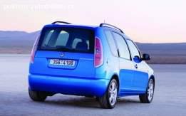 Zadnji branik Škoda Roomster