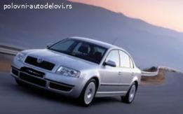 Zadnji branik Škoda Superb 1