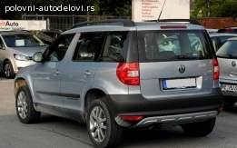 Zadnji branik Škoda Yeti