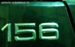 Znak na limariji za Alfu 156